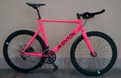Bicicleta Fixie-Carretera (Aventón personalizada) | Todobicis