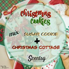 Christmas Cookies Mixology - Flyer created by: Angela O'Hare. #smellarific