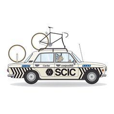 Bike Art, Bicycling, Illustration, Prints, Instagram, Cars, Cycling, Bicycle Art, Biking