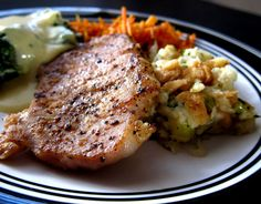 Easy Stuffed Pork Chops