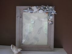 Gorgeous Beach Inspired Wedding Picture Frame with by SeeHaven, $75.00 Wedding Picture Frames, Wedding Pictures, Beach Wedding Inspiration, Inspired, Unique Jewelry, Handmade Gifts, Vintage, Etsy, Home Decor