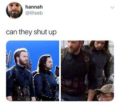 Oh I think it's me screaming Youre The One, I Scream, Meet The Artist, Shut Up, Marvel Cinematic Universe, Bucky, Things To Think About, Movie Posters, Fictional Characters