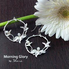 Morning Glory Earrings Ethnic Wear Designer, Fashion Earrings, My Style, Pattern, Patterns, Model