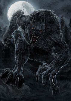 Werewolf by sawangza1234.deviantart.com on @DeviantArt