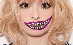 Maquillaje Artístico Sonrisa dientes Halloween