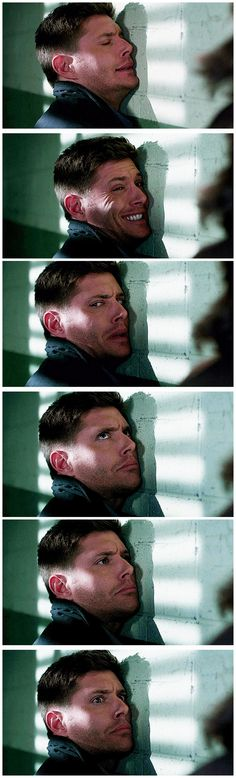 [gifset] His range of expressions in such a short span is just one more reason Jensen is such a great actor <3 8x16 Remember The Titans