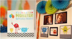 Little Monster Birthday Party    http://store.ptarh.com/