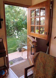 Dutch Door by Vintage Doors Diy Barn Door, Diy Door, Barn Door Hardware, Entrance Doors, Patio Doors, Vintage Doors, Antique Doors, Traditional Doors, Interior Barn Doors