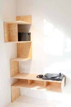 5 Natural Cool Tricks: Floating Shelves With Drawers Sinks floating shelves with pictures bookshelves.How To Hang Floating Shelves Bookshelves. Corner Shelves, Wall Shelves, Bathroom Shelves, Kitchen Shelves, Plywood Shelves, Closet Shelves, Corner Wall, Book Shelves, Wooden Shelves