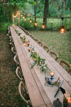 woodland forest themed wedding reception ideas wedding themes 34 Enchanting Woodland Wedding Ideas That Inspire - Page 4 of 4 - Oh Best Day Ever Wedding Forrest, Forest Wedding, Woodland Wedding, Woodland Forest, Rustic Garden Wedding, Wedding Country, Magical Wedding, Outdoor Wedding Decorations, Outdoor Wedding Venues