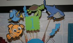 Finding Nemo Birthday Party Centerpiece. $12.95, via Etsy.