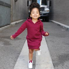 Maroon Hooded Sweater Dress w/ Side Pockets available April 1st!!! I love this dress!!!