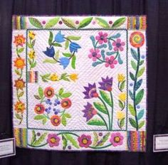 Applique Sampler by Tami H. Jones (posted by IamSusie on Flickr)