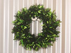 Check out this item in my Etsy shop https://www.etsy.com/listing/463218092/green-monster-wreath