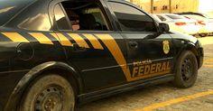Trio que usou carro da Polícia Federal falsificado na Paraíba é procurado