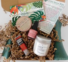 awesome Terra Bella Box – July 2016 Review, Coupon & Spoiler