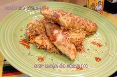 Crispy Chicken and Mexican Rice   by Kecia's Flavor Breakthrough!