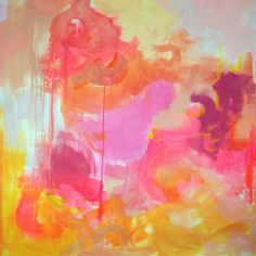 Michelle Armas. pinks yellows
