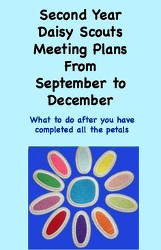 Second year Daisy Scout meeting plans from September to December without doing a single Journey Girl Scout Swap, Girl Scout Leader, Girl Scout Troop, Brownie Girl Scouts, Girl Scout Cookies, Scout Mom, Girl Scout Daisy Petals, Daisy Girl Scouts, Girl Scout Daisies