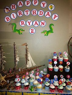 Jake the Neverland Pirates Party decorations