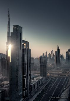 Dubai Revisited by Beno Saradzic