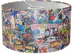 30cm Marvel Comic Cover Lampshade Ceiling/pendant