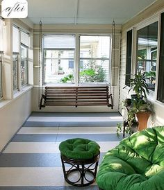 Love the stripes---great use for carpet tiles perhaps! But maybe with less expensive tiles, but make a stripe pattern.