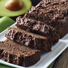 Gluten-Free Fudgy Chocolate Avocado Bread