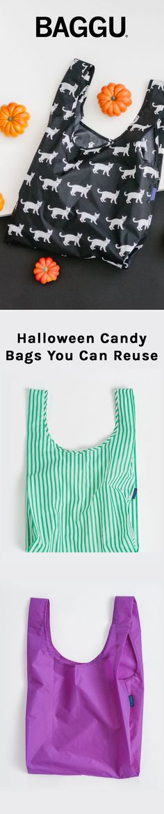 Holds 50 Pounds (of candy!) Shop our Reusable Shopping Bags for Halloween.