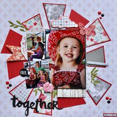 Together...by Carolyn Ewy, shared for an SG Scrap Squad Facebook group challenge. #scrapbookgeneration #sgscrapsquad #scrapsquad #scrapbook…