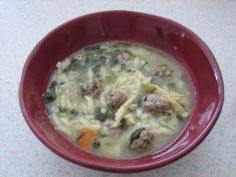 Italian Wedding Soup Recipe | Brown Eyed Baker -hey kari lee how about a soup party when the ZITOS come??