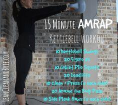 15 Minute AMRAP Kett