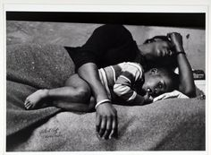 """""""Bessie Fontenelle and Little Richard in bed, Harlem, New York,"""" 1968. By Gordon Parks."""