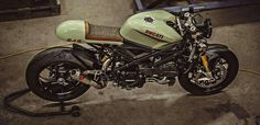 Ducati 848 custom cafe racer