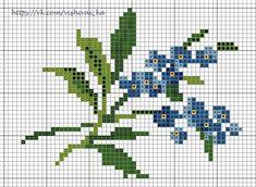 Cross Stitch Boarders, Cross Stitch Numbers, Tiny Cross Stitch, Cross Stitch Flowers, Counted Cross Stitch Patterns, Cross Stitch Charts, Cross Stitching, Cross Stitch Embroidery, Embroidery Patterns
