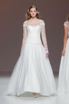 Dream #wedding dresses - #Cymbeline 2015 - browse the full collection here: http://www.weddingandweddingflowers.co.uk/article/1080/barcelona-bridal-week-cymbeline-2015-wedding-dresses