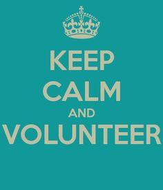 Keep Calm & Volunteer