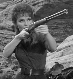 Ruta Lee in the television series Wagon Train, 1962