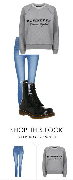"""""""December 5"""" by megaspirit on Polyvore featuring Burberry and Dr. Martens"""