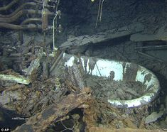 Titanic captain Edward Smith's bathtub intact on the bottom of the ocean