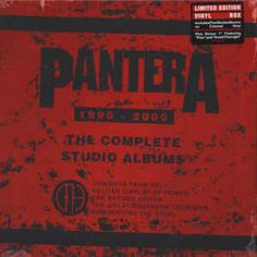 Pantera - The Complete Studio Albums 1990-2000: buy LP, Album, RE, Whi + LP, Album, RE, Red + LP, Albu at Discogs