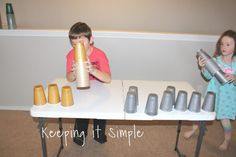 5 Minute to Win It Games using Plastic Cups • Keeping it Simple Crafts