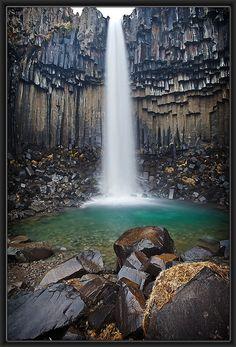 ✯ Svartifoss Waterfall - Iceland