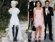 Charlotte Casiraghi & Princess Caroline In Chanel Couture – Bal de la Rose du Rocher