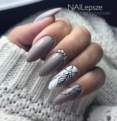 50 Classy Nail Designs with Diamond Ideas that will Steal the Show - cute nails - Stiletto Nail Art, Matte Nails, Pink Nails, My Nails, Acrylic Nails, Coffin Nails, Diamond Nail Designs, Diamond Nails, Nails Design With Diamonds