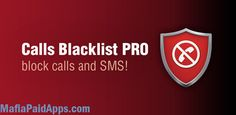 Calls Blacklist PRO v3.1.8 (Patched)   This application both blocks unwanted calls and SMS and helps manage a blacklist. Easy and lightweight it does not consume any of your device's battery power. If you are looking for a call blocker or SMS spam filter this application is what you need.  You can either block any number from your contacts list calls and messages logs or add unwanted number manually.  Numbers from the blacklist are blocked quietly and without any signs of a call. Whatever…