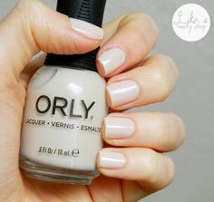 Smalto ORLY Naked Canvas indossato da @El di Like a Candy Shop http://likeacandyshop.com/orly-blush-collection-part-1/