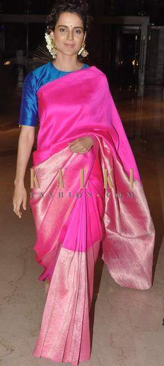 Kangana in bright silks