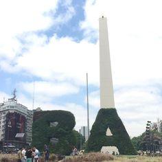 Nuestro viaje está llegando a su fin. Mañana ya estamos en casa. Han sido unos días geniales y nos llevamos sitios experiencias y personas en el recuerdo para siempre  #viajevirus #virusdlafelicidad #argentina #buenosaires #argentinavirus #baverde #obelisco #viaje #felicidad