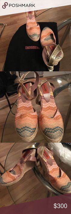 🎉HOST PICK🎉 Missoni Brand New Colorful Wedges Brand New Missoni Colorful Wedges. Never worn! Comes with original dustbag! 🎉HOST PICK🎉 First image is just a professional shot, same shoes different color. True colors are in the rest. Missoni Shoes Wedges